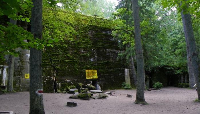 Wolfs Lair and Treblinka Tour Block 13