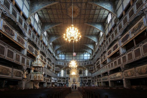 7 Day Trip From Warsaw: UNESCO World Heritage Sites in Poland Jawor 600x400