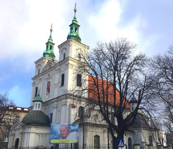 4 Day Trip From Warsaw: Catholic Pilgrimage to Poland Krakow Church Of St Florian 600x517