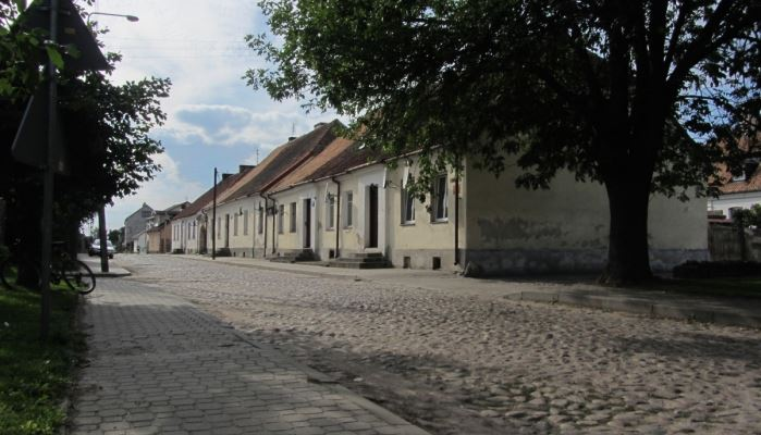 Tykocin Tour - Jewish Shtetl Tykocin Kaczorowska Street