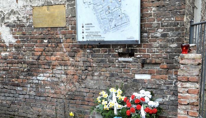 Warsaw Jewish Heritage Tour Warsaw Ghetto wall